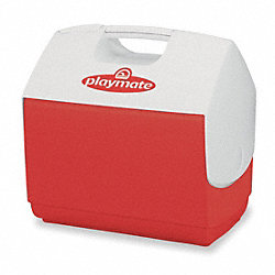Beverage Cooler, 7 qt., Red