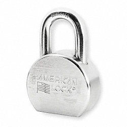 Rekeyable Padlock, H 1 1/16 In, Boron, KA