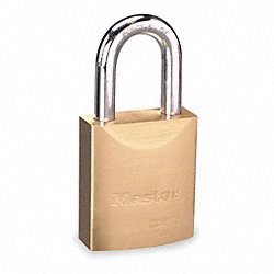 Padlock, Interchangable Core, Brass