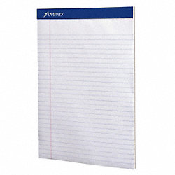 Writing Pad, 8 1/2, Legal, PK12