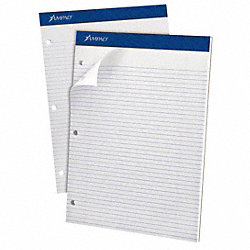 Writing Pad, 5 x 8, Legal, Wht, PK12