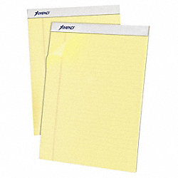 Writing Pad, 8 1/2, Perf, Can, PK12