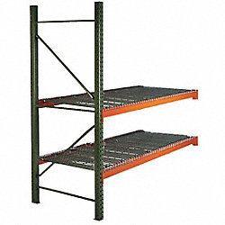 Pallet Rack, Add-On Unit, D36, H 96, L120