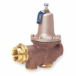 Water Pressure Reducing Valve, 3/4 In