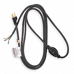 Power Supply Cord, 8 Ft, General Purpose