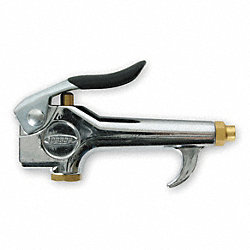 Air Gun, Chrome, 4-1/4 In. L, 150 psi