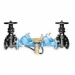 Backflow Preventer, 4 In, Cast Iron