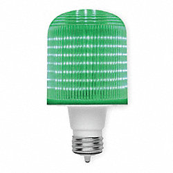 LED Light Bulb, T20, 2700K, Green