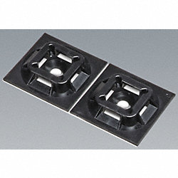 Cable Mount, Adhesive Backed, PK 100