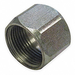 Tube Nut, 3/8 In Tube Sz, 316 SS, 6000 PSI