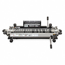 Dovetail Machine Kit, Cap 24 In, 66 lbs