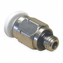 Straight Adapter, Ext. Hex, MNPTxTube, PK10