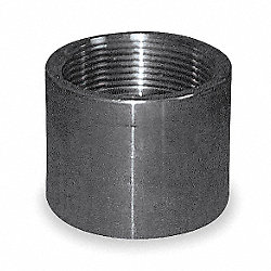 Coupling, 1/4 In, 304 Stainless Steel
