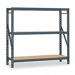 Bulk Storage Rack, Starter, 72Wx24Dx72H In