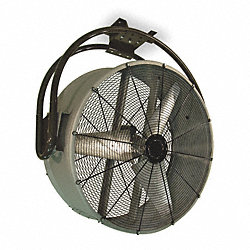 Air Circulator, 48 In, 19, 100 cfm, 115V