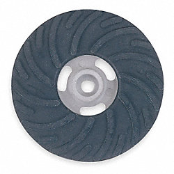 Disc Backup Pad, 5 In Dia, 5/8-11 Face