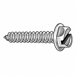 Piercing Screw, #10x1 1/2 In, Pk 108