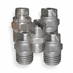 Spray Nozzle, Male, Size 4.0, Pk 5