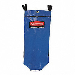Recycling Cart Bag, Blue, Vinyl