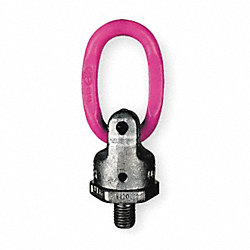 Hoist Ring, 180 Pivot, 1380 lb.Load Cap.