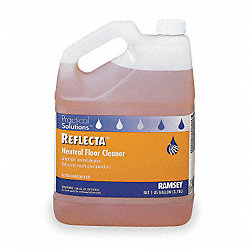 Neutral Floor Cleaner, 1 gal., Citrus, PK 2