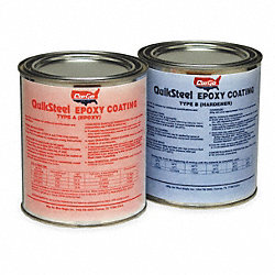 Epoxy Coating/Hardener, Dark Gray, 32 oz.