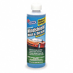 Windshield Washer Solvent, 16 Oz, Blue