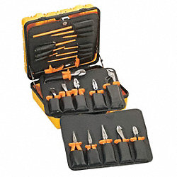 Insulated Tool Set, Hard Case, 22 Pc