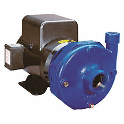 Pump, Centrifugal, CI, 15 HP, 4 In x 3 In
