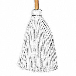 Industrial Deck Mop, Cut End, Cotton