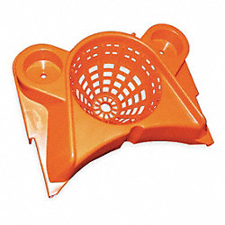 Mop Wringer, Funnel, Orange, Copolymer