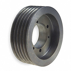 V-Belt Pulley, 28 In OD, 5GRV