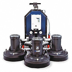 Grinder/Polisher, 54 In, 15HP