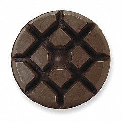 Polishing Pad, 3 In, PK 9