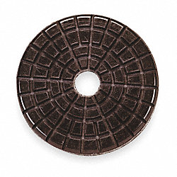 Polishing Pad, 3 In, PK 10