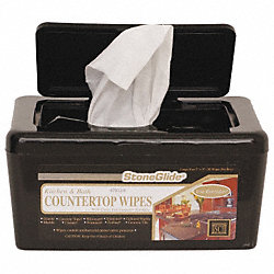 Counter and Cooktop Wipes, Box, PK 6