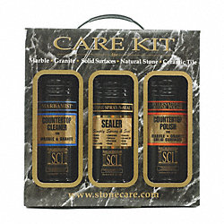Stone Countertop Care Kit, Size 96 oz.