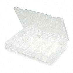 Compartment Box, Adjustable, 12 Dividers