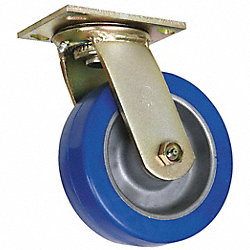 Swivel Plate Caster, , 6 In Dia