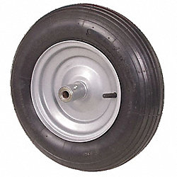 Tubeless Pneumatic Wheel, 16 In, 670 lb