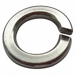 Split Lock Washer, 0.512 In ID, PK50