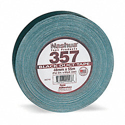 Duct Tape, 48mm x 55m, 13 mil, Black