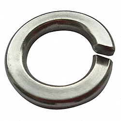 Split Lock Washer, 0.322 ID, PK 100