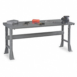 Fixed Leg Workbench, 60Wx30Dx33-1/2In H