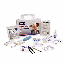 First Aid Kit, Laboratory, Serves 25