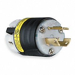 Locking Plug, 15A AC, L6-15P