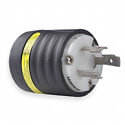 Locking Plug, 30A AC, L6-30P
