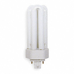 Plug-In CFL, 26W, T4, GX24Q-3 (4-Pin)