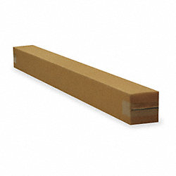 Shipping Carton, Brown, 4 In. L, 4 In. W