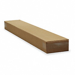 Shipping Carton, Brown, 8 In. L, 4 In. W